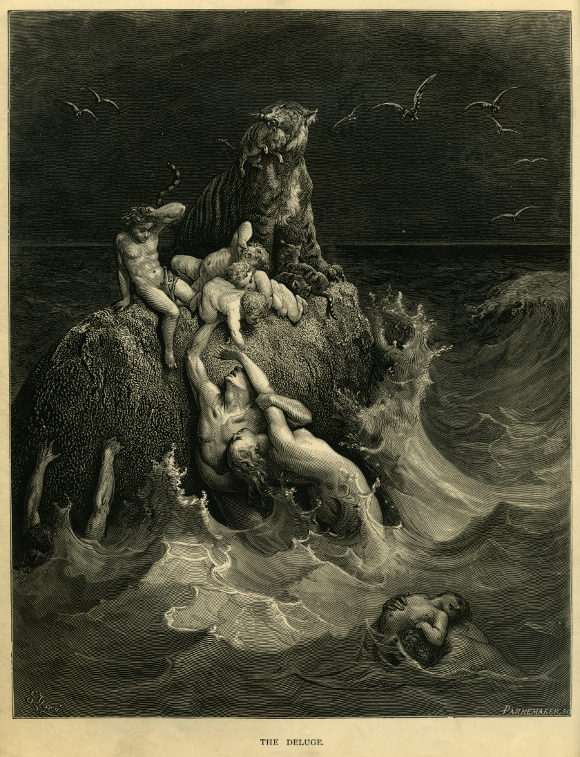 gustave_dore_-_the_holy_bible_-_plate_i_the_deluge